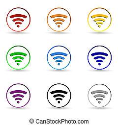 wifi, icônes