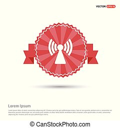 Wifi icon - Red Ribbon banner