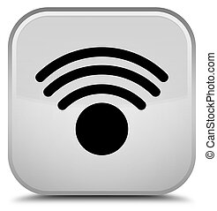 Wifi icon special white square button