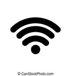 Wifi internet zone icon vector illustration graphic design