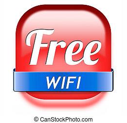 wifi, kosteloos
