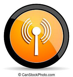 wifi orange icon