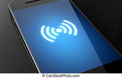wifi, señal, strenght