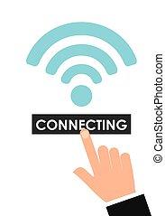 wifi, service