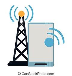wifi, signal, smartphone, internet