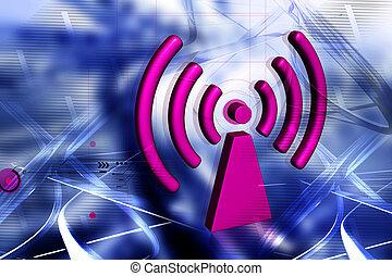 wifi, symbool