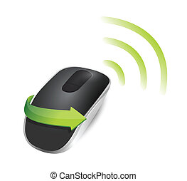 wifi Wireless computer mouse
