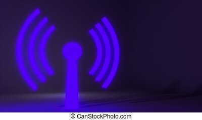 Wifi wireless internet network net web connection icon logo wi-fi