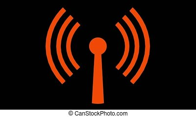 Wifi wireless internet network net web connection icon logo wi-fi wi fi