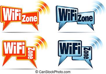 wifi, zone, heiligenbilder