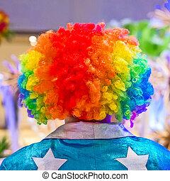 Wig - Beautiful multicolored wig