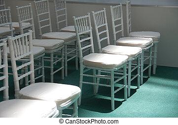 wihte, stoelen