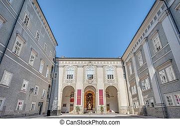 wihtin, salzburg, residenz, österreich, palast, residenzgalerie