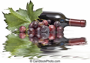 wijn., weerspiegelingen