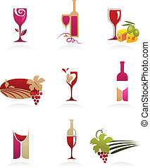 wijntje, iconen