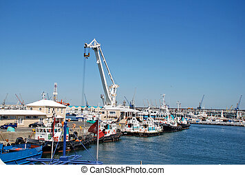wiktoria i alfred waterfront, miasto przylądka, południe,...
