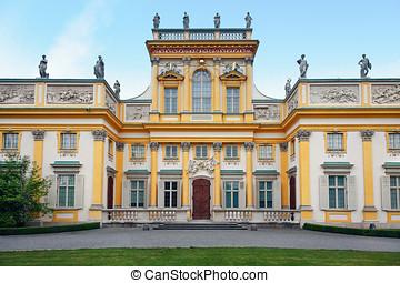 wilanow, 宮殿, 在, 華沙