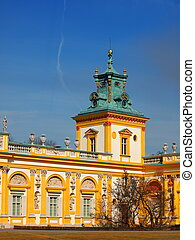 Wilanow Palace in Warsaw - Palace in Wilanow district of ...