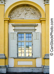 Wilanow Palace in Warsaw Poland