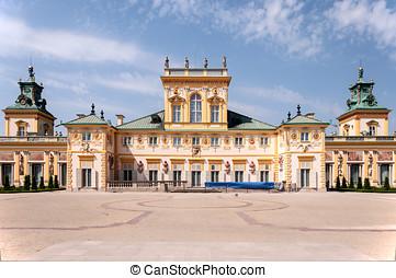 wilanow, warszawa, polska, pałac