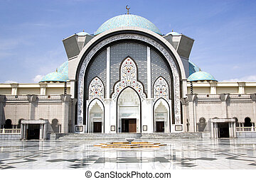 Wilayah Persekutuan Mosque, located in Kuala Lumpur,...