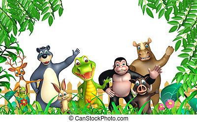 wild animal - 3d rendered illustration of wild animal
