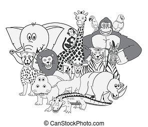 Wild Animals Group Show