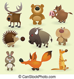 Wild animals set #2