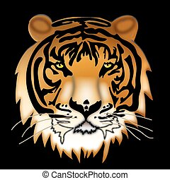 Wild thing. Siberian tiger.