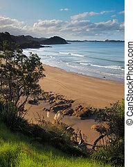 Wild Beach in Bay of Islands, Northland New Zealand - Sand, ...
