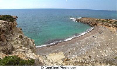 wild beach of cyprus