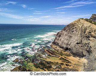 Wild beaches on western part of Algarve, Portugal - Wild ...