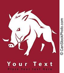 wild boar symbol