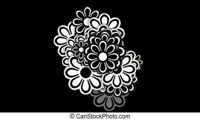 wild daisy flower,spring scence