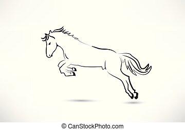 Wild horse logo vector