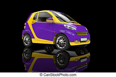 wild, kleines auto
