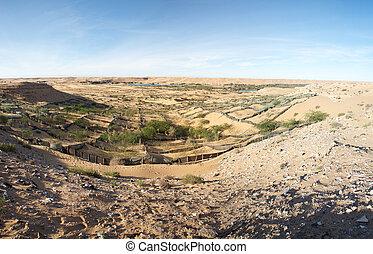Wild landscape in Morocco