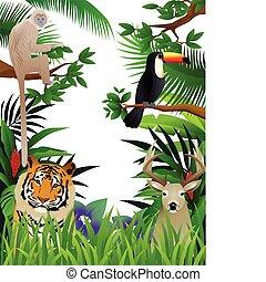 wild life - vector illustration of wild life