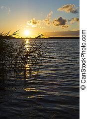 Wild Masuria - Summer landscape - View of the lake Ros