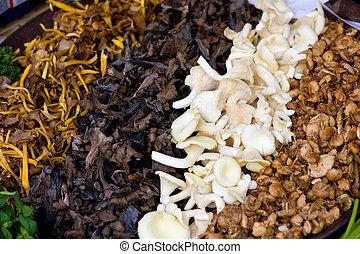 wild mushroom mixture