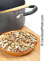 Wild Rice and Mushroom Soup Mix