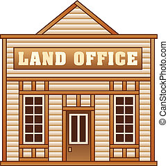 Wild West Land office building - Land office from Wild West...