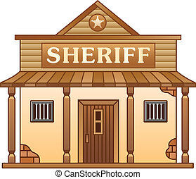 Wild West Sheriff's office building