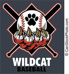 wildcat, baseball