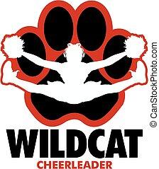 wildcat, cheerleader