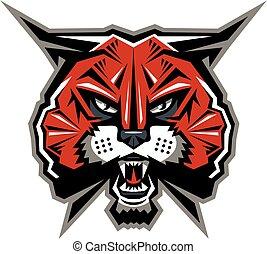 wildcat, maskotka
