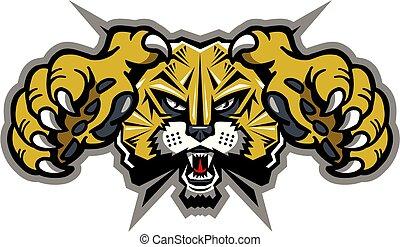 wildcat, maskottchen