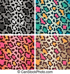 Wildcat Spots Pattern