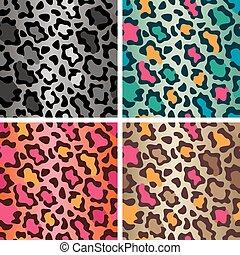 Wildcat Spots Pattern