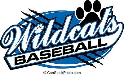 wildcats, beisball